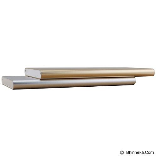 IROC Powerbank 10000 mAh [Slim SM-10] - Silver - Portable Charger / Power Bank